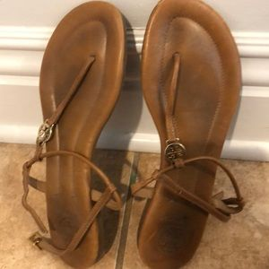 Tory Burch t strap sandals